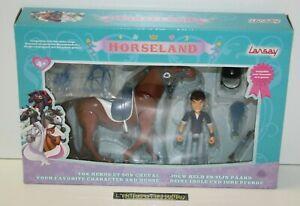 ++ figurine basile bailey et apache / HORSELAND - LANSAY NEUF ++