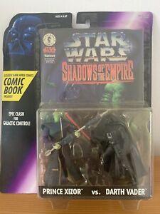 Star Wars Shadows of the Empire Prince Xizor Vs. Darth Vader & Comic Book