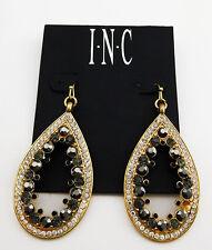 INC INTERNATIONAL CONCEPTS Gold-Tone Glass Stone Teardrop Earrings Msrp $26.50