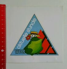 Aufkleber/Sticker: WDR aktuelle stunde (15051662)