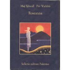 MAJ SJÖWALL,PER WAHLÖÖ - Roseanna - LIBRO 2013 USATO BUONE CONDIZIONI
