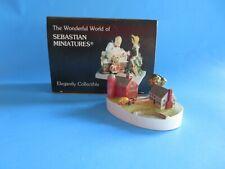 "Vintage Sebastian Miniatures ""Country Farm� 1985 Signed"