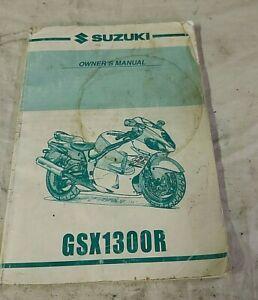 2000 Suzuki Hayabusa GSX1300R Gen1 Owner's Manual Hand Book