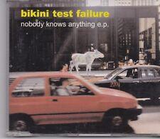 Bikini Test Failure-Nobody Knows Anything cd maxi single