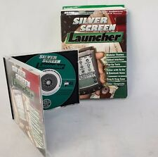Silver Screen Launcher for Palm OS PC WIN 98 Vintage
