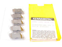 """5 New Tailor Made Kennametal Top Notch Carbide Inserts, Size 4, .180"""" Groove"""