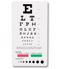Prestige Medical 3909 Snellen Pocket Eye Chart Universal, Basic pack