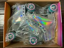 Impala Quad Roller Skates - Holographic - Size 7 - Brand New - Fast Shipping