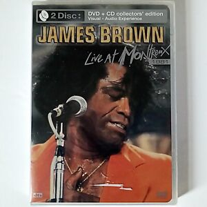 James Brown - Live At Montreux 1981 - Collector's  Edition CD + DVD New & Sealed