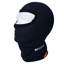 NEW Oxford Motorcycle Thermals Lycra One Eye Hole Balaclava - Black (CA005)