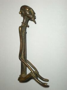 Dogon Male Bronze Sculpture, Mali, African