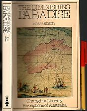 Rare 295pg Australiana THE DIMINISHING PARADISE Ross Gibson EARLY AUTHORS on VGC