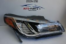 for parts only tested 2015-2016 HYUNDAI SONATA RIGHT LED XENON HID HEADLIGHT OEM
