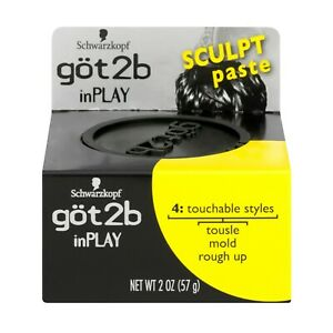 NEW Got2b InPlay Sculpt Paste - 2 oz