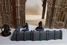 Warhammer Terrain, Spiked Barricades with corner, Necromunda, Age of Sigmar