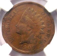 1909-S Indian Cent 1C - NGC VF Details - Rare Key Date - Certified Penny!