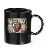 #Michelangelo The #Delphic Sybil Ceramic #Drawer Knob Coffee Mug