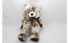 "GANZ Brown & White Teddy Bear Plush Stuffed Animal Newport 17"" Toy H12805 Hug Me"