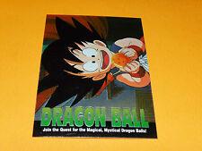 CARD DRAGON BALL Z 1996 BIRD STUDIO SHUEISHA TOEI FUNIMATION USA