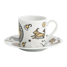 Fornasetti Astrology Coffee Cup & Saucer - Set x 6 NEW