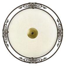 Deckenlampe Deckenleuchte Lampe Leuchte Glas Metall antik braun gold EGLO 86712