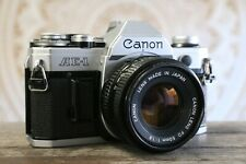 Canon AE-1 SLR 35mm Film Camera, FD 50mm f1.8 Lens, GUARANTEED, A1 F1 AT RA093