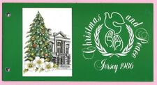 JERSEY 1986 Presentation Pack - CHRISTMAS & PEACE - MNH stamps