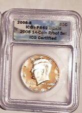 2008 S Kennedy Half Dollar ICG PR 69 DCAM