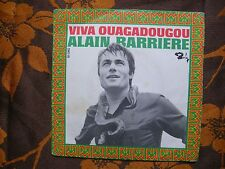 SP ALAIN BARRIERE - Viva Ouagadougou / Barclay ‎– 61060 France (1969)  Languette