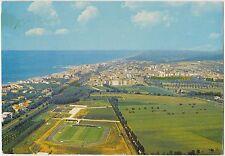 SAN VINCENZO - VEDUTA AEREA CON STADIO - CAMPO SPORTIVO (LIVORNO) 1987