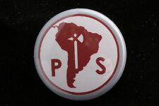"""Socialist Party Chile Salvador Allende 1"""" Button Badge Pin Concertación"""