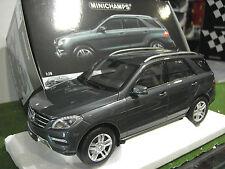 MERCEDES M-class 2011 gris métallic 1/18 MINICHAMPS 100030100