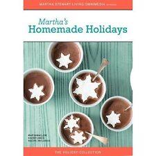 Martha's Homemade Holidays (DVD, Christmas, Educational, NR) Brand New, Sealed