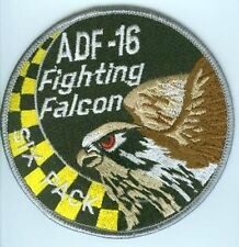 FIGHTING FALCON F-16 JET FIGHTER SWIRL PATCH COLLECTIONS: ADF-16 Six-Pack SQN