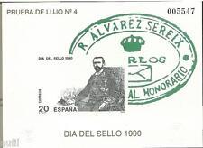 Spain Prueba nº 20 Dia del Sello 1990