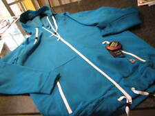 NWT - Mens UNDER ARMOUR Teal Blue COLD GEAR Infrared Hooded Jacket (XL)