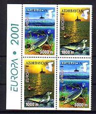 L' Azerbaïdjan Michel numéro 494 - 495 D tamponné (eau: 2412a)