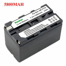 1x Kastar Battery for Sony NP-F770 HXR-NX5 HXR-NX5U NEX-FS100