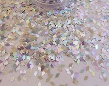 Nail Art Silver Diamond que cambia de color holográfica pot Spangle Brillo Punta