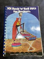 101 Rock N Roll Hits For Buskers - Music Book - Piano / Organ/ Guitar Chords