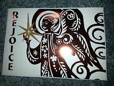 16 HALLMARK Mahogany Rejoice CHRISTMAS CARDS  & ENVELOPE Religious BOXED SET New