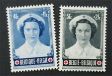 nystamps Belgium Stamp # B536.B537 Mint OG NH    S17x232