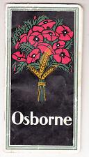 Werbe Broschur Osborne Erntemaschinen & Ackergeräte Landwirtschaft um 1930 (H5