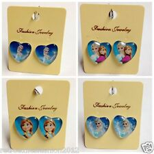 Disney Kids Girls/Women Frozen Elsa/Anna/Sophia Clip-On Earrings Jewelry Gift