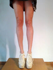 Deena and Ozzy laced up high heel beige leather platform EU 36