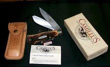 Camillus 716S Knife & Sheath Dual Locks & Dura-Stag Handles W/Original Packaging