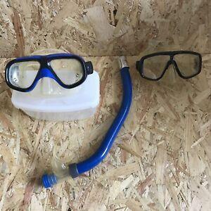 Snorkel Set With Spare Goggles TUSA Vega Platina Typhoon