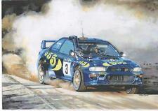 Colin McRae, Subaru art print