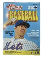 2021 MLB Topps Heritage BLASTER BOX *1972 Design* Exclusive - Factory Sealed/New