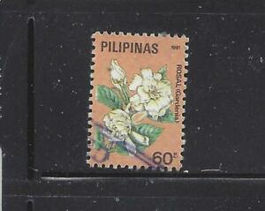 PHILIPPINES - 2048,2050a,2051-2053,2056a-2059b,2060a - USED - 1991-92 - FLOWERS